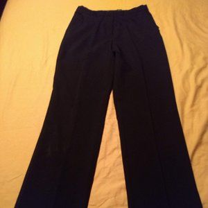 New York and Company  6 Tall cuffed black slacks